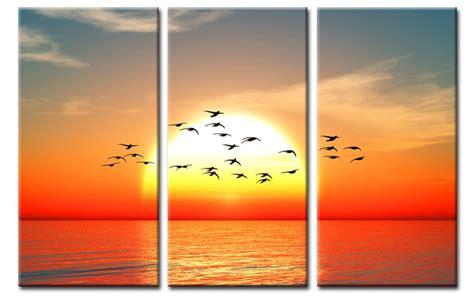wandbilder 3 teilig wandbilder 3 teilig ziemlich the journey leinwand bilder sonne v 214 gel schwarm c00923 6875 haus