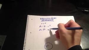 Fläche Eines Zylinders Berechnen : kreisfl che berechnen die fl che eines kreises ermitteln youtube ~ Themetempest.com Abrechnung
