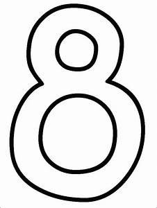 Numbers Coloring Pages - Print Numbers Pictures to Color ...