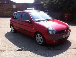 Clio 2 2003 : used renault clio 2003 diesel 1 5 dci 65 dynamique hatchback red manual for sale in brentford uk ~ Medecine-chirurgie-esthetiques.com Avis de Voitures