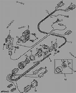 Main Wiring Harness And Switches  4x2  - Utility Vehicle John Deere Trail