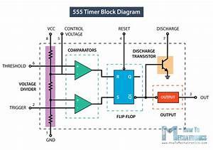 Circuit Diagram 555 Timer