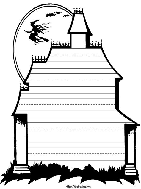 haunted house template clipart panda  clipart
