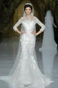 elie saab wedding dress 2014 pronovias bridal 2 onewedcom With elie saab wedding dresses