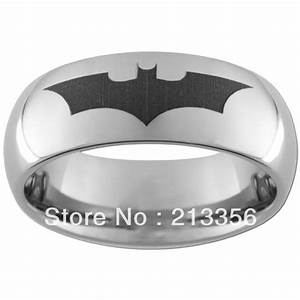 Popular batman wedding band buy cheap batman wedding band for Batman wedding rings for men