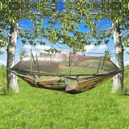 Camouflage Hammock by Cing Camouflage Hammock Bed With Mosquito Net Walmart