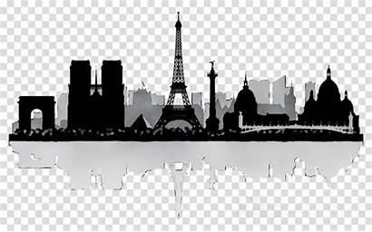 Skyline Paris Silhouette Clipart Transparent Clip Cityscape