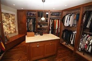 Custom Mahogany & Aromatic Cedar Closet by Cabinet