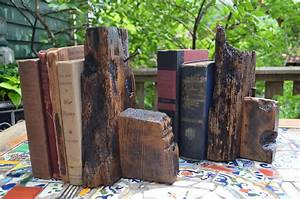Rustic, Bookends
