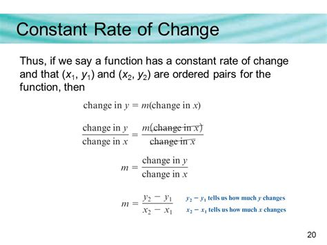 Functions With A Constant Rate Of Change  Ppt Download