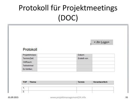 word vorlage zur erstellung von protokollen