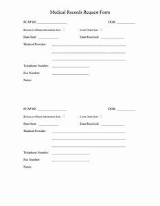 medical records request form in word and pdf formats With template to request medical records