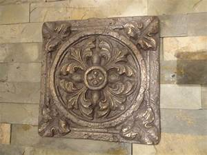 tuscan garden wall decor indoor outdoor oil rubbed bronze With bronze wall art