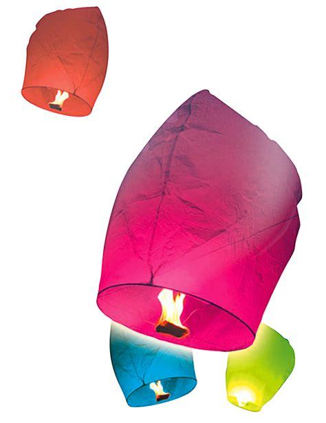 lanterne volanti fai da te 10 lanterne volanti multicolor su vegaooparty negozio di