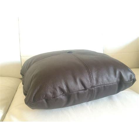 coussin pour canapé cuir coussin personnalisé en simili cuir cuir pour votre