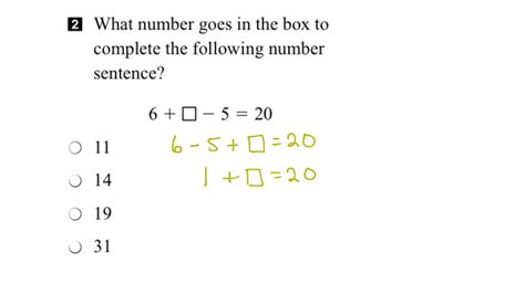 eqao grade 3 math 2015 question 2 solution youtube