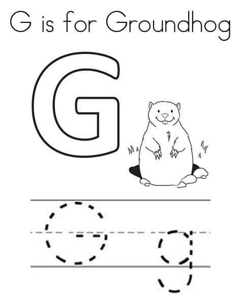 groundhog day coloring pages free printable groundhog day coloring pages