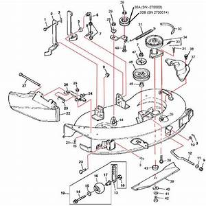 John Deere Stx38 Mower Deck Belt Diagram