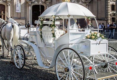 Carrozza Con Cavalli Per Matrimonio by Noleggio Carrozza Matrimoni Affitto Carrozza Con