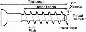Diagram Illustrates Screw  U0026quot  Anatomy   U0026quot