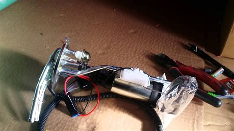 swap lsx engine swap fuel pump  sending