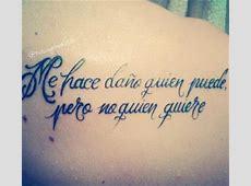 Más de 20 frases en español para tatuarse Blogmujerescom