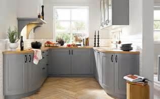 landhaus küche kuche grau bilder landhaus kueche grau u form