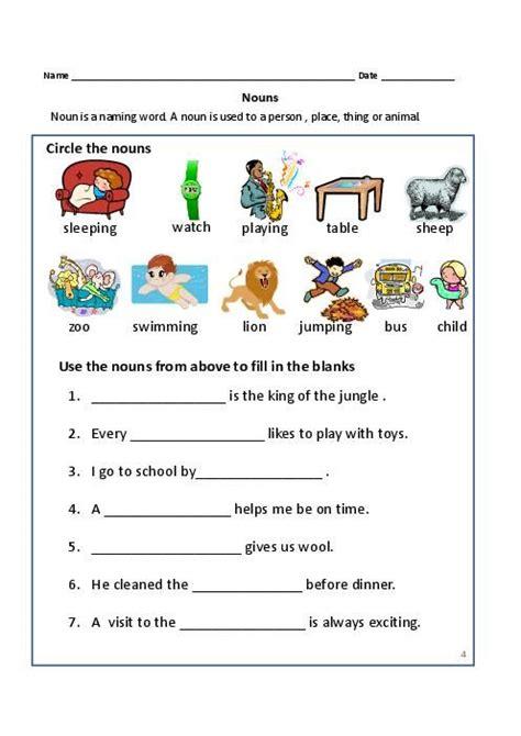 nouns exercises   grade common proper nouns