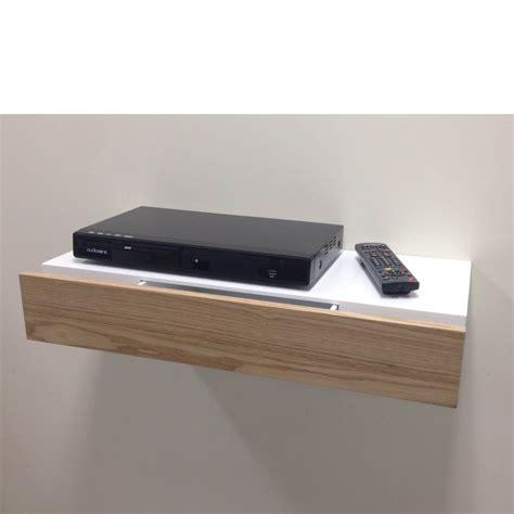 corner brackets floating shelf with ash drawer 600x250x100mm mastershelf