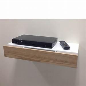 Floating Shelf with Ash Drawer 600x250x100mm - Mastershelf