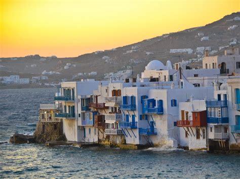 Dallas Escape Series The Amazing Beauty Of Mykonos Island