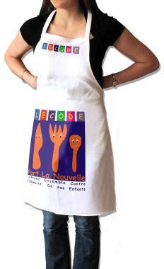 tablier professionnel cuisine tablier de cuisine à personnaliser en sublimation