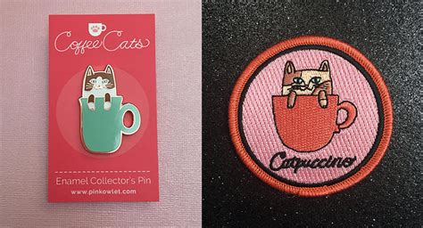 Coffee Cats! • Hauspanther Nearest Coffee Shop Comedians In Cars Getting Cake Muffins Weasel New England Cafe Day Oxo Maker Green
