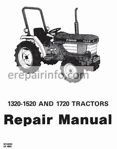 Ford New Holland 1320  1520  1620  1715  1720 Service