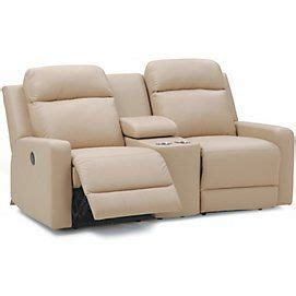 Sears Canada Loveseats by Pendleton Leather Look Power Reclining Seat Sears