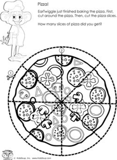 preschool scissor skills activities and worksheets kidssoup 361 | scissors skills worksheet pizza