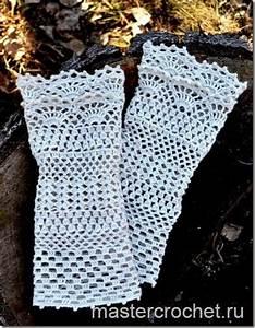 Crochet Gloves   Pattern Step By Step   Diagram
