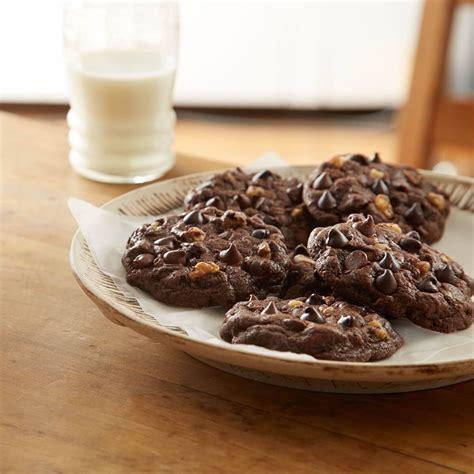 hersheys kitchens doubly chocolate cookies recipe