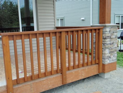 wood porch railing wooden porch railing systems