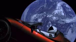 Tesla Dans Lespace : albums photos la tesla roadster dans l 39 espace ~ Nature-et-papiers.com Idées de Décoration