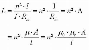 Induktivität L Berechnen : magnetische durchflutung elektrische spule und ~ Themetempest.com Abrechnung