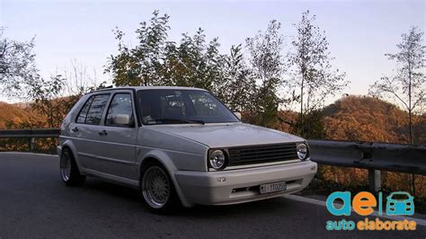 Golf Mk2 Gtd Tuning Youtube