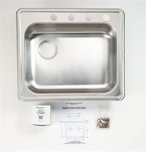 ge gpf stainless steel sink    sink dishwasher single bowl left side drain