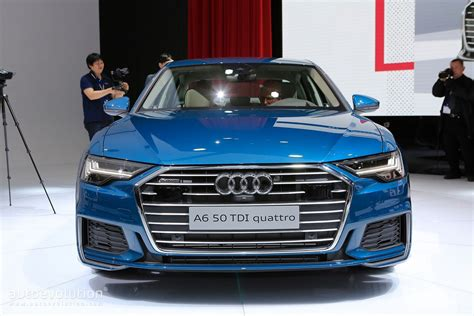 Blue Is The Right Color For 2019 Audi A6 In Geneva