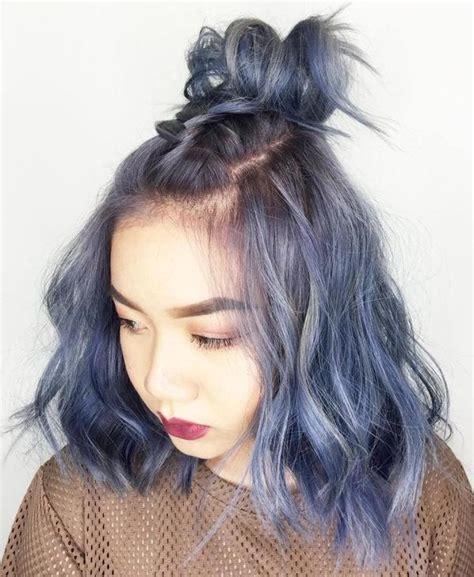 coiffure moderne femme cheveux mi coiffure simple et facile