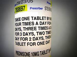How To Avoid Prednisone Withdrawal