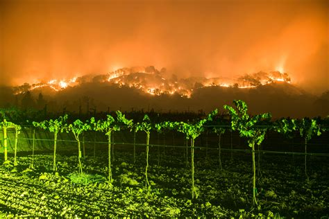 napa fire photo   week hell descends  california