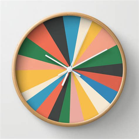 modern home interiors pictures 8 creative wall clock designs from society6 design