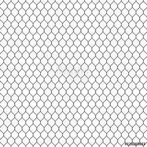 """""""Vector seamless pattern, black thin wavy lines on white ..."""