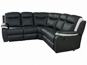 Canape Angle Cuir Conforama : salon d 39 angle conforama ~ Teatrodelosmanantiales.com Idées de Décoration